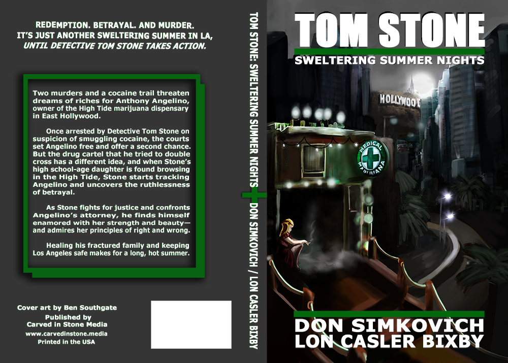 TOM STONE: SWELTERING SUMMER NIGHTS - A Gripping Fast-paced Detective Novel full of Crime-Drama, Redemption, Betrayal, and Murder.